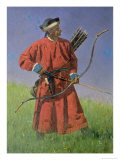 Bokharan Soldier, 1873 Giclee Print by Vasilij Vereshchagin