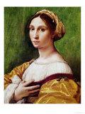 Portrait de jeune fille Reproduction procédé giclée par  Raphael