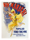"Poster Advertising ""Mariani Wine"", a Popular French Tonic Wine, 1894 Giclee Print by Jules Chéret"