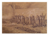 "Execution at the ""Mur des Federes"", Pere-Lachaise Cemetery, 28th May 1871 Giclee Print by Alfred Henri Darjou"
