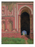 Gate Near Kutub-Minar, Old Delhi, 1875 Giclée-Druck von Vasilij Vereshchagin