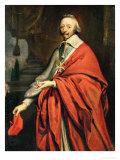 Portrait of Cardinal de Richelieu Giclee Print by Philippe De Champaigne