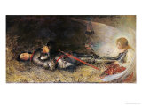 Joan of Arc Asleep, 1895 Giclee Print by George William Joy