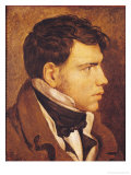 Portrait of a Young Man Giclée-Premiumdruck von Jean-Auguste-Dominique Ingres