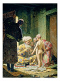 Sale of a Child Slave, 1871-72 Giclée-Druck von Vasilij Vereshchagin