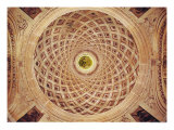 Interior View of the Cupola in the Chapel Giclee Print by Philibert Delorme