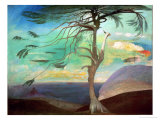 The Solitary Cedar, 1907 Giclee Print by Tivadar Csontvary Kosztka