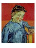 The Schoolboy, c.1889-90 Giclée-tryk af Vincent van Gogh