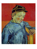 The Schoolboy, c.1889-90 Giclee Print by Vincent van Gogh