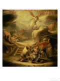 The Annunciation to the Shepherds Lámina giclée por Benjamin Gerritsz. Cuyp