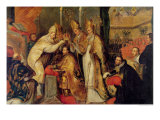The Coronation of Charles V Holy Roman Emperor Giclee Print by Cornelius I Schut