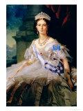 Portrait of Princess Tatiana Alexanrovna Yusupova, 1858 Giclee Print by Franz Xavier Winterhalter