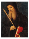 St. Benedict Giclee Print by Pietro Perugino