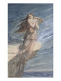 The Death of Sappho Giclee Print by Theodore Chasseriau