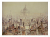 A Tribute to Sir Christopher Wren Giclee Print by Charles Robert Cockerell