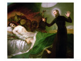 St. Francis Borgia Helping a Dying Impenitent, 1795 Giclee Print by Francisco de Goya
