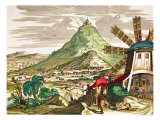 View of Potosi in Bolivia Giclee Print by Martin Engelbrecht