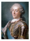 Portrait of Louis XV King of France Giclee Print by Gustav Lundberg