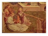 The Fountain of Grace, Detail of Three Angel Musicians Giclee Print by  Jan van Eyck