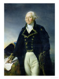 Portrait of Francois-Christophe Kellermann circa 1835 Giclee Print by Georges Rouget