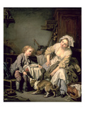 Spoilt Child, 1765 (Oil on Canvas) Giclee Print by Jean Baptiste Greuze