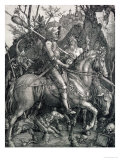 Knight, Death and the Devil, 1513 Giclee Print by Albrecht Dürer