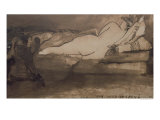 Sleeping Nude Giclee Print by Victor Hugo