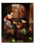 The Vegetable Seller Giclee Print by Gerrit or Gerard Dou