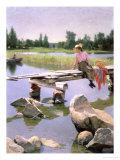 Summer Giclee Print by Gunnar Berndtson