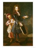 Portrait of Louis-Alexandre de Bourbon Count of Toulouse Giclee Print by Francois de Troy