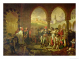 Napoleon Bonaparte Visiting the Plague Stricken of Jaffa, 11th March 1799, 1804 Giclee Print by Baron Antoine Jean Gros