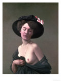 Lady in a Hat, 1908 Giclee Print by Félix Vallotton