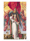 St. Michael Weighing the Souls, from the Last Judgement, circa 1445-50 Giclee Print by Rogier van der Weyden