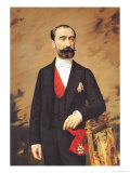 Portrait of Marie Francois Sadi Carnot 1887 Giclee Print by Pierre Petit