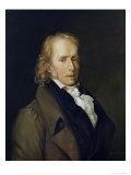 Portrait of Benjamin Constant de Rebecque Giclee Print by Hercule De Roches