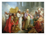 Solomon Before the Ark of the Covenant, 1747 Giclee Print by Blaise Nicolas Le Sueur