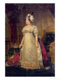 Portrait of Marie-Therese-Charlotte de France Duchess of Angouleme Giclee Print by Baron Antoine Jean Gros