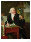 Portrait of Antoine Parmentier 1812 Premium Giclee Print by Francois Dumont
