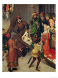 St. Helena and the Miracle of the True Cross Giclee Print by Simon Marmion