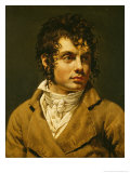 Portrait of a Man Gicle-tryk af Anne-Louis Girodet de Roussy-Trioson