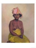 African Woman, 1910 Giclee Print by Félix Vallotton