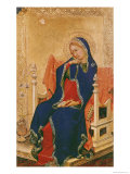 Virgin of the Annunciation Premium Giclee Print by Simone Martini