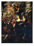 The Medici Cycle: Marie de Medici Escaping from Blois, 21st-22nd February 1619, 1621-25 Giclee Print by Peter Paul Rubens