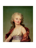 Portrait of Marie-Therese Charlotte of France Duchess of Angouleme, 1786 Reproduction procédé giclée par Adolf Ulrich Wertmuller