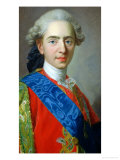 Portrait of Dauphin Louis of France Aged 15, 1769 Giclee Print by Louis-Michel van Loo