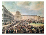 Funeral of Ludwig Van Beethoven in Vienna, 29th March 1827 Giclee Print by Franz Stober