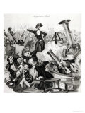 A Concert of Hector Berlioz in 1846 Giclee Print by Andreas Geiger