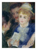 Reading the Role Giclee Print by Pierre-Auguste Renoir