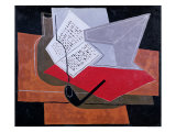 Bowl and Book Giclee Print by Juan Gris