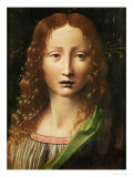 Head of the Saviour Giclee Print by Leonardo da Vinci